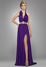 2012 Aubergine Landa Pageant Dress GE684
